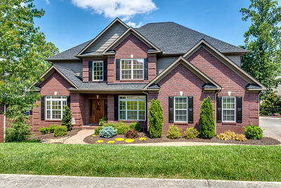 Knoxville Single Family Home For Sale: 1718 Evening Shade Lane