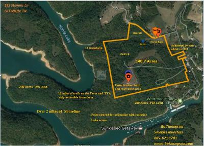 Campbell County Residential Lots & Land For Sale: 185 Stevens Lane