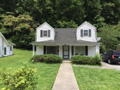 Middlesboro TN Single Family Home For Sale: $45,000