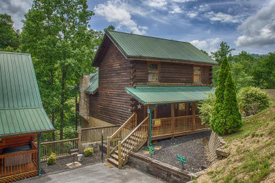 Pigeon Forge Single Family Home For Sale: 616 Chickasaw Gap Way