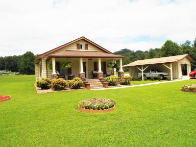 Lafollette Single Family Home For Sale: 2286 Stinking Creek Rd