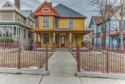 Knoxville Single Family Home For Sale: 808 N 4th Ave