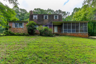 Oliver Springs Single Family Home For Sale: 599 Mahoney Rd