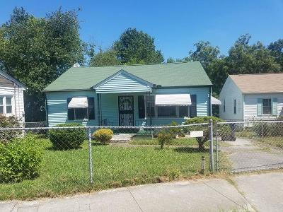 Knoxville Single Family Home For Sale: 318 Ben Hur Ave