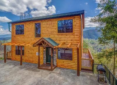 Gatlinburg Single Family Home For Sale: 208 W Pinnacle Drive