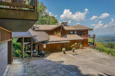 Sevierville Single Family Home For Sale: 3841 &3845 Thomas Cross Rd