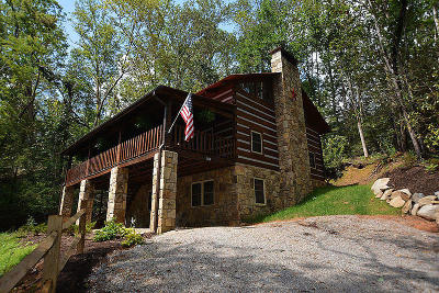 Gatlinburg Single Family Home For Sale: 1860 Hidden Hills Rd