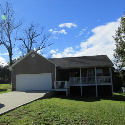 Lafollette Single Family Home For Sale: 136 Sandy Circle
