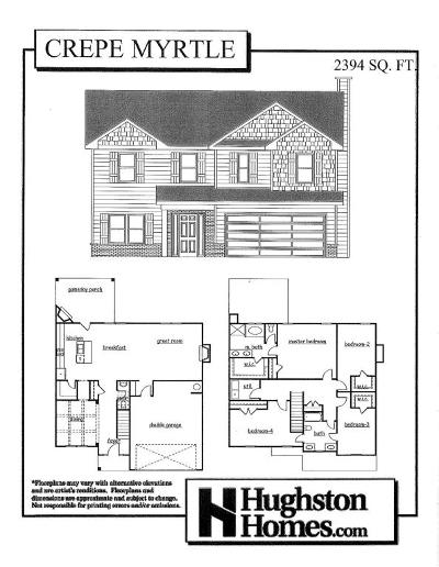 Knoxville Single Family Home For Sale: Lot 10 Hamilton Farm