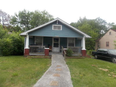 Knoxville TN Single Family Home For Sale: $48,000