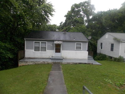 Knoxville TN Single Family Home For Sale: $44,000