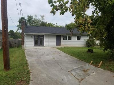 Knoxville TN Single Family Home For Sale: $32,500