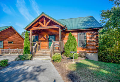 Pigeon Forge Single Family Home For Sale: 3210 Steeple Way