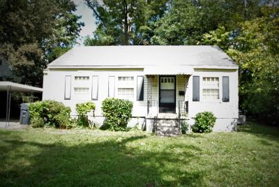Knoxville TN Single Family Home For Sale: $67,000