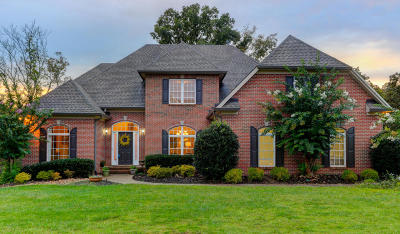 Knoxville TN Single Family Home For Sale: $565,000