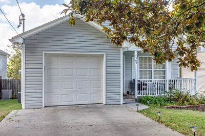 Knoxville TN Single Family Home For Sale: $130,000