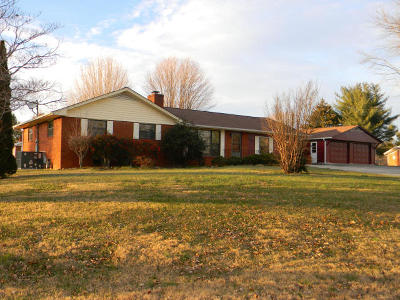 Knoxville Single Family Home For Sale: 5509 Newberry Rd