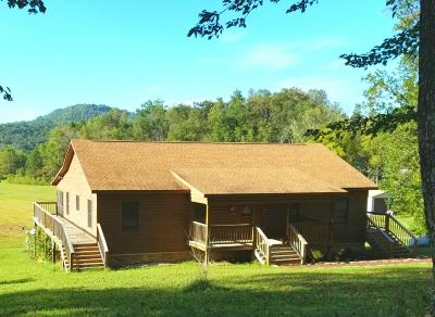 Campbell County Single Family Home For Sale: 577 Red Cut Road Rd