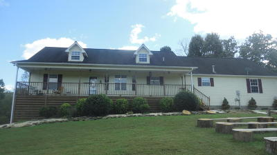 Lafollette Single Family Home For Sale: 435 Davis Chapel Rd E Of Rd