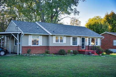 Knoxville Single Family Home For Sale: 3203 Cross Valley Rd