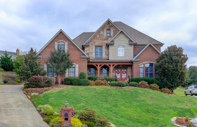 Knoxville Single Family Home For Sale: 2512 Bridge Valley Lane