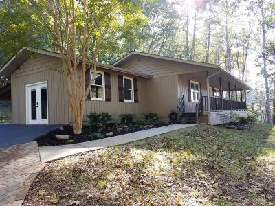 Knoxville Single Family Home For Sale: 1814 N Campbell Station Rd