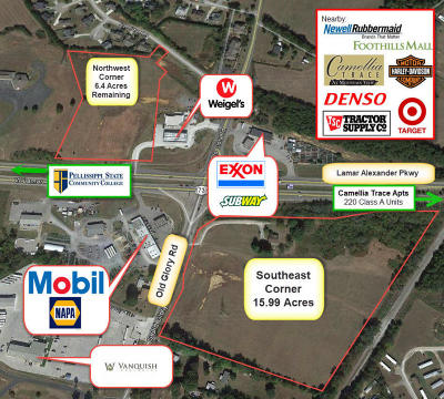 Maryville Residential Lots & Land For Sale: Old Glory Rd