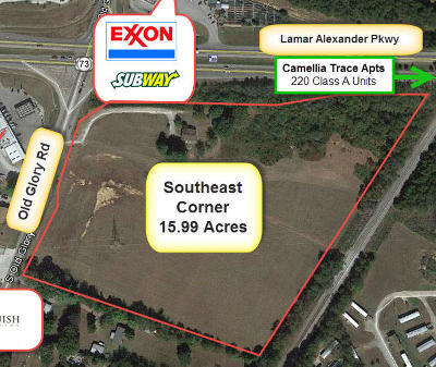 Maryville Residential Lots & Land For Sale: 311 Old Glory Rd