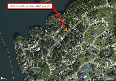Foothills Point, Foothills Pointe, Foothills Pointe Vi, Foothills Pointe/Phase Iii Residential Lots & Land For Sale: 196 E Cove Drive