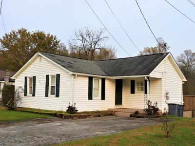 Oliver Springs Single Family Home For Sale: 911 Kentucky St
