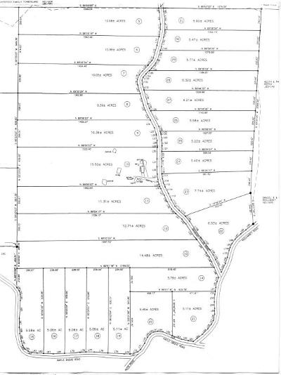 Residential Lots & Land For Sale: Branham Hollow Rd Lot #11
