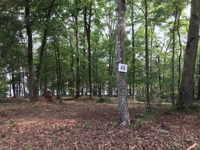 Meigs County, Rhea County, Roane County Residential Lots & Land For Sale: East Shore Lot 45