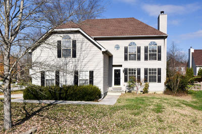 Knoxville Single Family Home For Sale: 10103 Highgate Circle