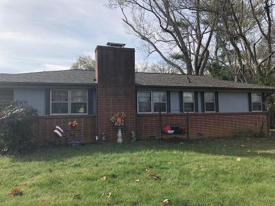 Knoxville Single Family Home For Sale: 5313 Bluefield Rd