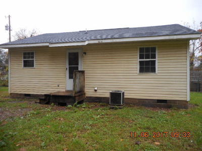 Knoxville TN Single Family Home For Sale: $46,800