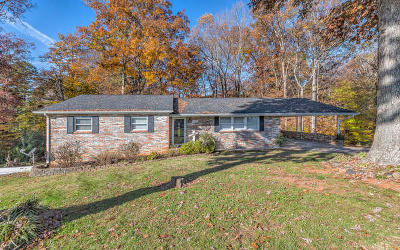 Knoxville Single Family Home For Sale: 3405 Burwood Rd
