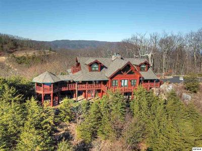 Sevierville TN Single Family Home For Sale: $1,799,000
