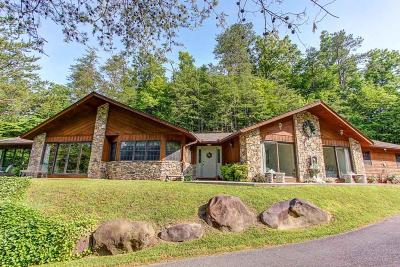 Gatlinburg Single Family Home For Sale: 202 Golf Creek Rd