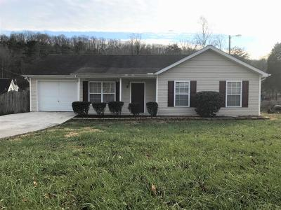 Knoxville TN Single Family Home Sold: $118,500