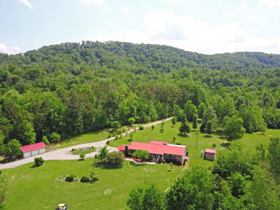 Anderson County, Campbell County, Claiborne County, Grainger County, Hancock County, Hawkins County, Jefferson County, Union County Single Family Home For Sale: 2611 Gw Loy Rd