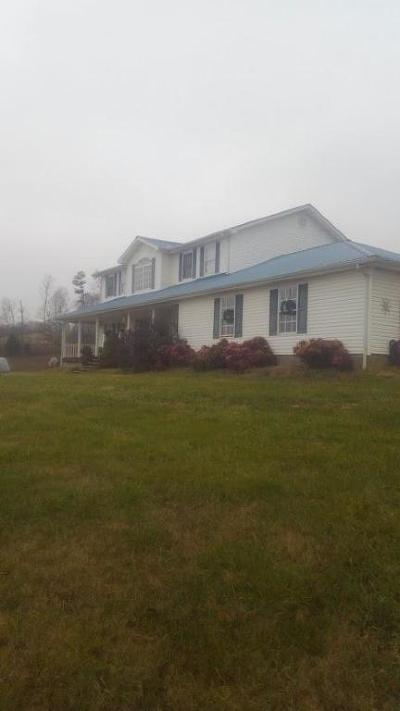 Grainger County Single Family Home For Sale: 1055 Blanken Drive