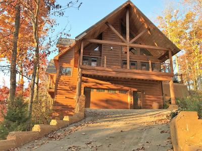 Gatlinburg Single Family Home For Sale: 554 Crest Rd