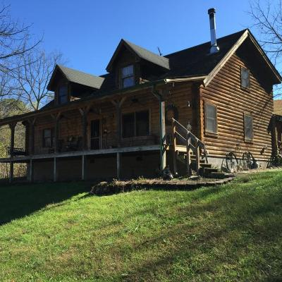 Tazewell Single Family Home For Sale: 495 Raven Fork Rd