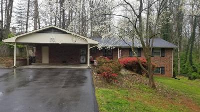Knoxville Single Family Home For Sale: 3100 Maloney Rd