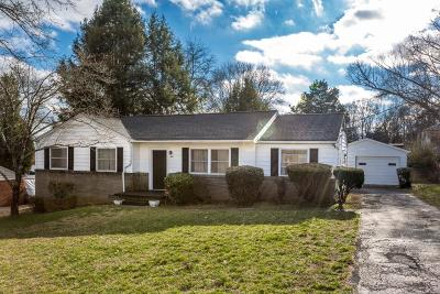 Knoxville Single Family Home For Sale: 5517 Wassman Rd