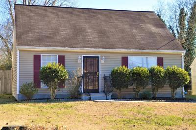 Knoxville Single Family Home For Sale: 2518 McCampbell Ave