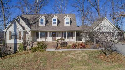Dandridge Single Family Home For Sale: 1140 Country Club Rd