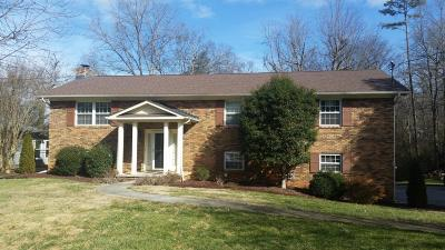 Knoxville Single Family Home For Sale: 504 Echo Springs Road