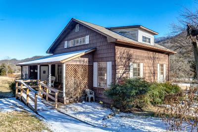Washburn Single Family Home For Sale: 558 Hogskin Valley Rd