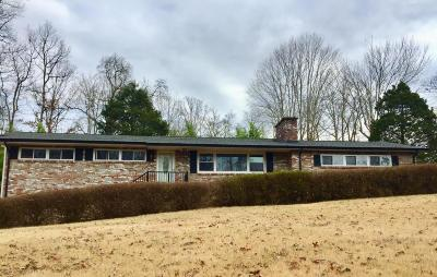 Knoxville Single Family Home For Sale: 6000 Tallent Rd